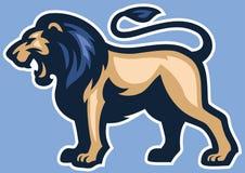 Lion Mascot Image stock