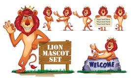 Lion Mascot Illustrazione di Stock
