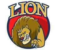 Lion Mascot 2 illustrazione vettoriale