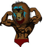 Lion Mascot photo libre de droits