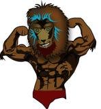 Lion Mascot foto de stock royalty free