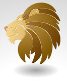 Lion mascot. Stock Photos