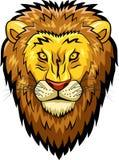 Lion mascot face Royalty Free Stock Photo