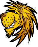 Lion Mascot Logo. Vector Images of Lion Mascot Logos Royalty Free Stock Photo