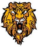 Lion Mascot Logo Royalty Free Stock Photos