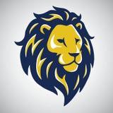 Lion Mascot Logo Template Image stock