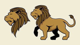 Lion mascot Royalty Free Stock Photography
