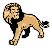 Lion mascot Royalty Free Stock Photo