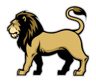 Lion mascot Royalty Free Stock Photo