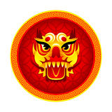 Lion mask symbol Stock Images