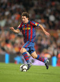 Lion Messi dans l'action Photographie stock