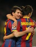 Lion Messi de Barcelone Photographie stock
