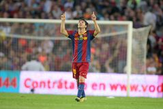 Lion Messi de FC Barcelone