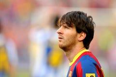 Lion Messi de FC Barcelone Image stock