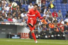 Lion Messi de FC Barcelone Photos libres de droits
