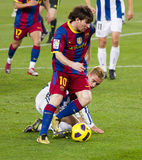 Lion Messi (FC Barcelone) Image libre de droits