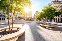 Lion miasto w France fotografia stock