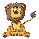 Lion mignon Photos libres de droits