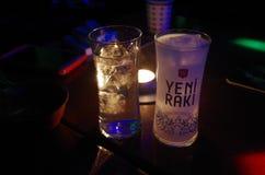 Lion Milk - YENI RAKI, Turkije royalty-vrije stock foto