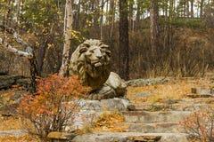 Lion Monument Stockfotografie