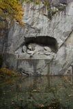 Lion Monument Stock Foto's