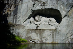 The Lion Monument Royalty Free Stock Images