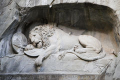 Lion Monument Stock Image