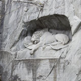 Lion monument Stock Photo
