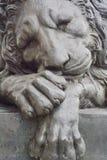 Lion Monument Stock Image