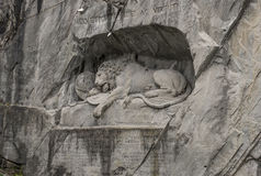 The Lion monument Stock Images