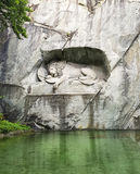 The Lion Monument Royalty Free Stock Image