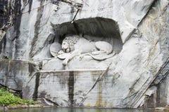 The Lion Monument, Luzern Stock Photos