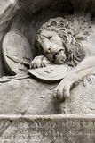 Lion Monument, Switzerland Stock Photo