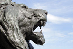 Lion monument in Vencie Stock Photo