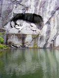 The Lion Monumenthe Lucerne, Switzerland, Royalty Free Stock Image