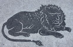 Lion mosaic Royalty Free Stock Image