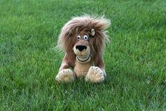 Lion mou de jouet Photos stock