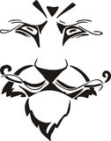 Lion muzzle Stock Images