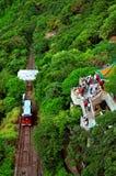 Lion pavilion at the peak, hong kong Stock Photo