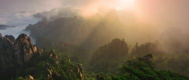 Lion Peak Sunrise Royalty-vrije Stock Afbeelding