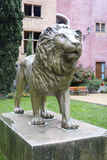 The lion at the Place de la Basoche in Vieux Lyon, France Royalty Free Stock Photo