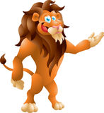 Lion presenting Stock Photography