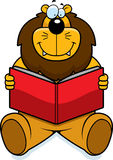 Lion Reading Stock Images