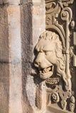 Lion Relief Arkivfoto