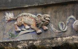 Lion Relief Fotografía de archivo