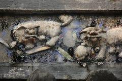 Lion Relief Imagen de archivo libre de regalías