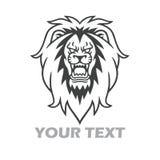 Lion Roar Logo Vector Royalty-vrije Stock Fotografie