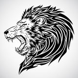 Lion Roar Tattoo Royalty Free Stock Photo