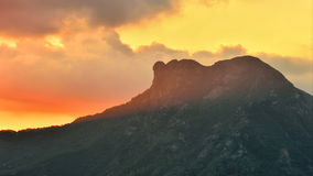 Lion Rock Royalty Free Stock Images