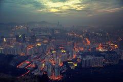 Lion Rock Hong Kong arkivbilder